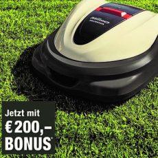 HONDA Miimo Rasenroboter – Eine Klasse für sich – Jetzt mit € 200,– Frühjahrsbonus!!